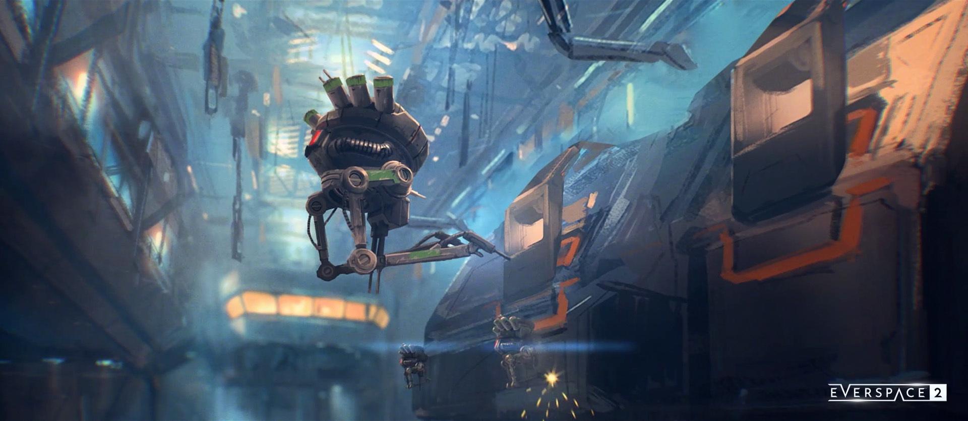 Do Everspace 2 přibyla nová velká aktualizace Droid