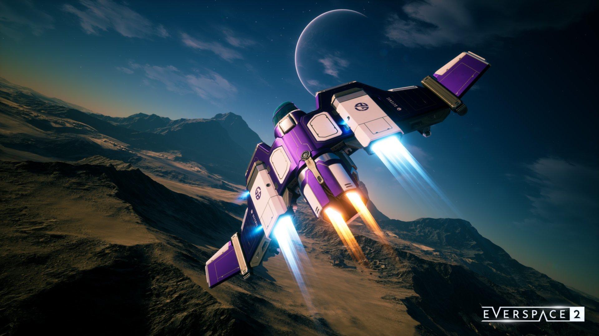 Do Everspace 2 přibyla nová velká aktualizace Vanguard
