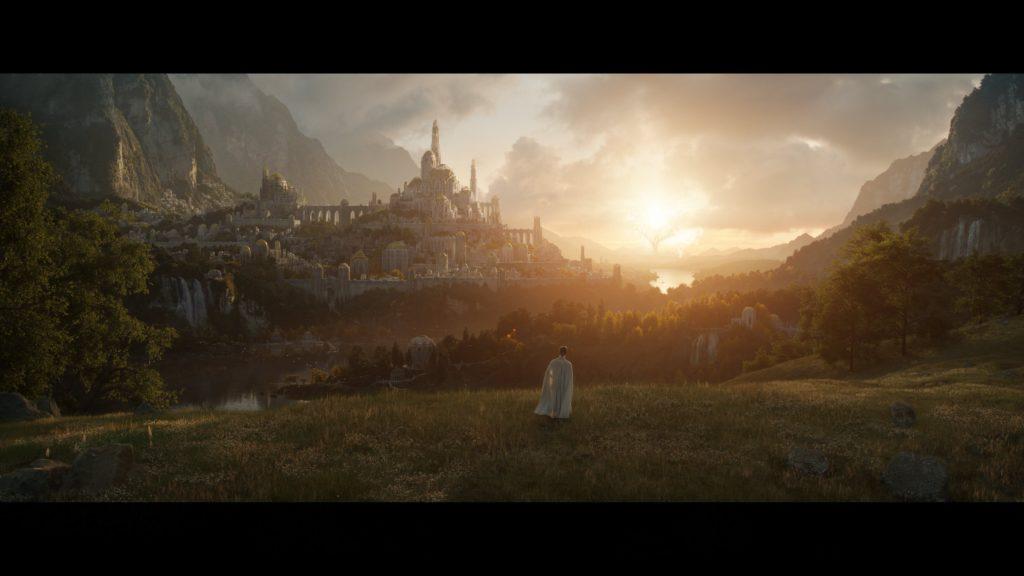 První epický záběr ze seriálu Pán prstenů lotramazon