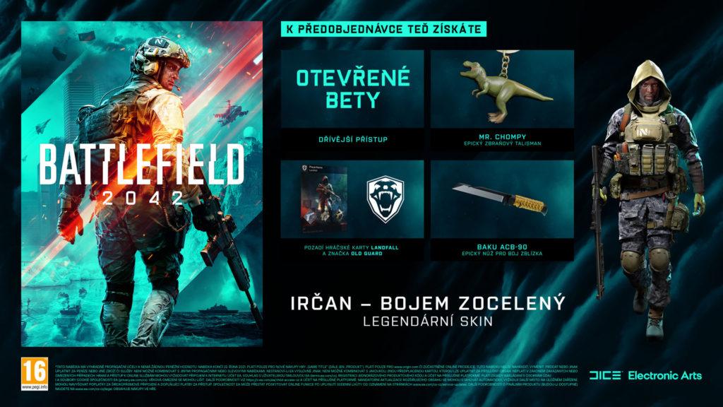 Battlefield 2042 odložen BATTLEFIELD42 PRODUKT