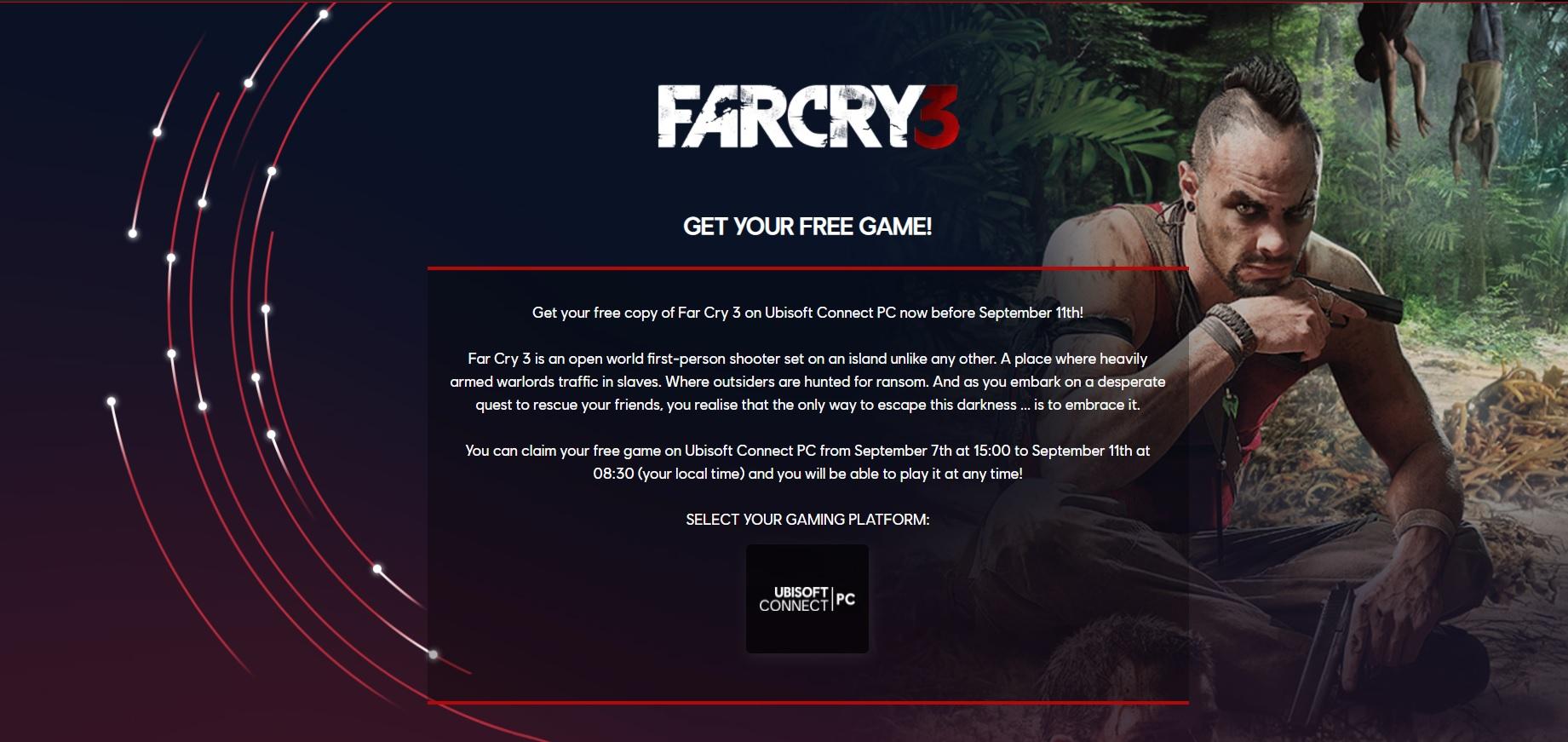 Vyzvedněte si zdarma Far Cry 3 FC3