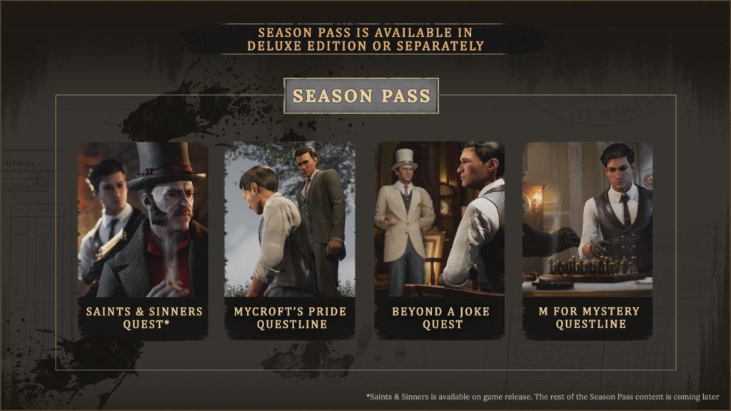 Sherlock Holmes: Chapter One – nové záběry a datum vydání Season Pass