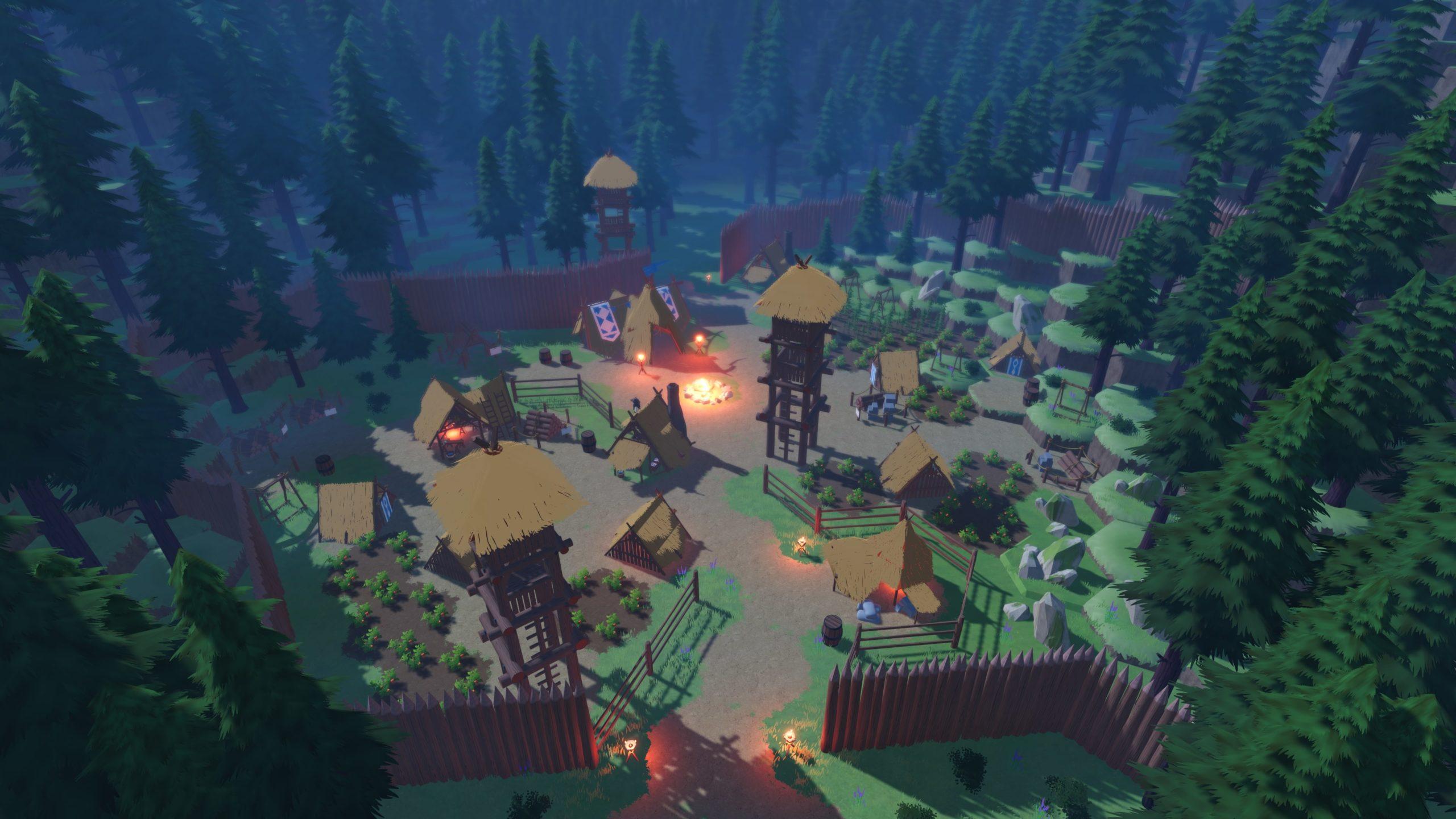Představeno pohledné survival MMO s názvem Bitcraft Valley scaled
