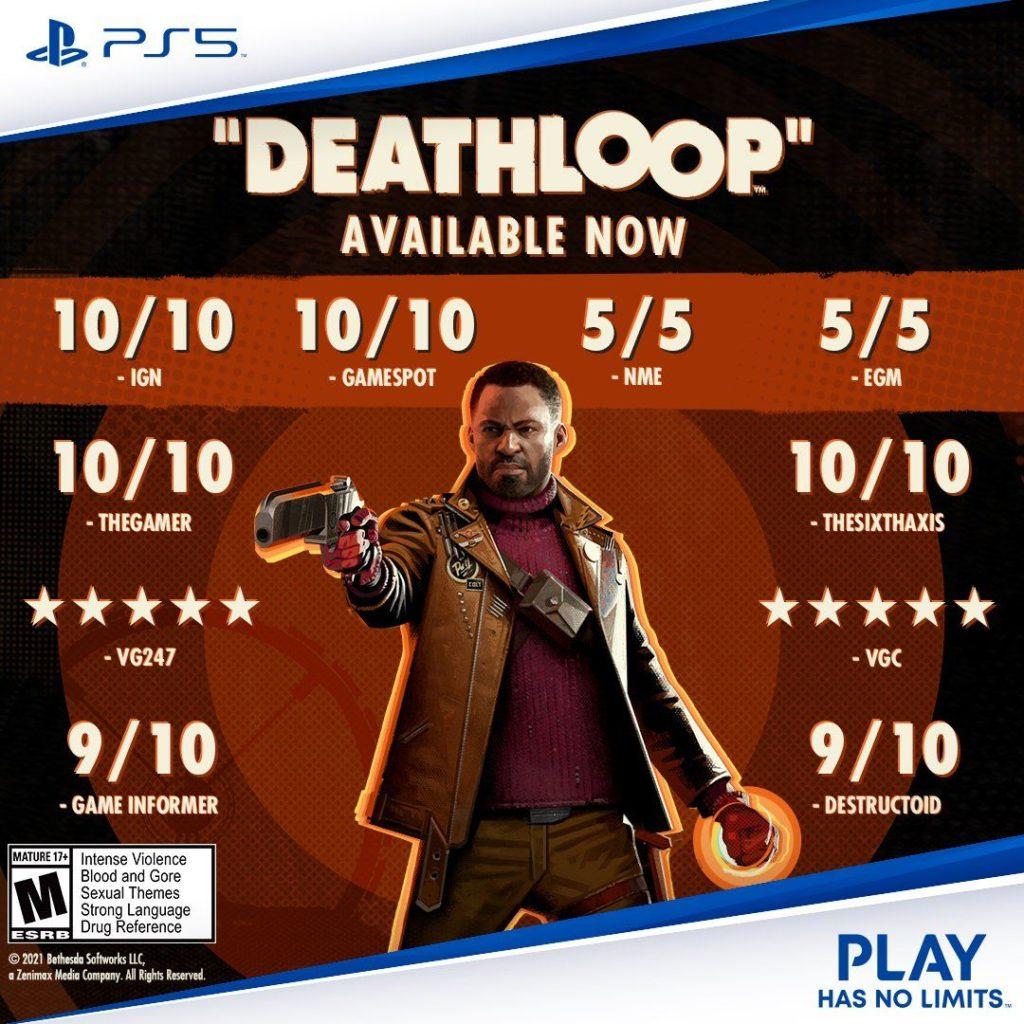 Souhrn recenzí hry Deathloop dps