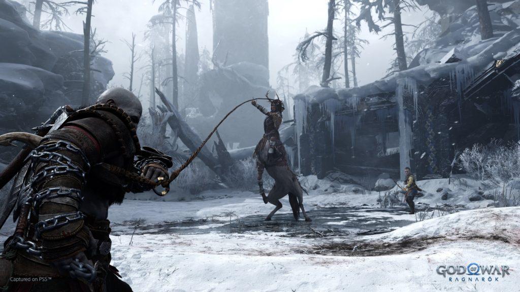 První ukázka God of War: Ragnarök fight