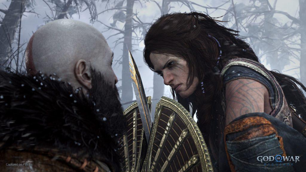 První ukázka God of War: Ragnarök freya