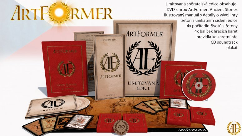 Česká hra ArtFormer vybírá peníze na limitovanou edici Artformer