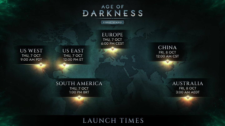 Vychazí předběžný přístup temné strategie Age of Darkness: Final Stand Launch